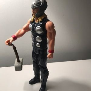 Thor action figure.